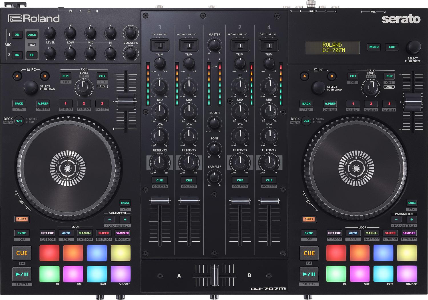 Roland DJ-707M DJコントローラー