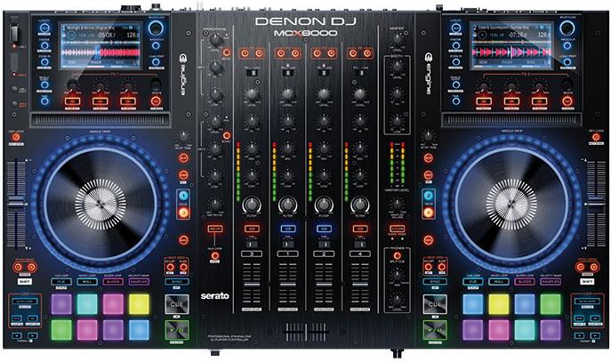 DENON DJ MCX8000 DJコントローラー