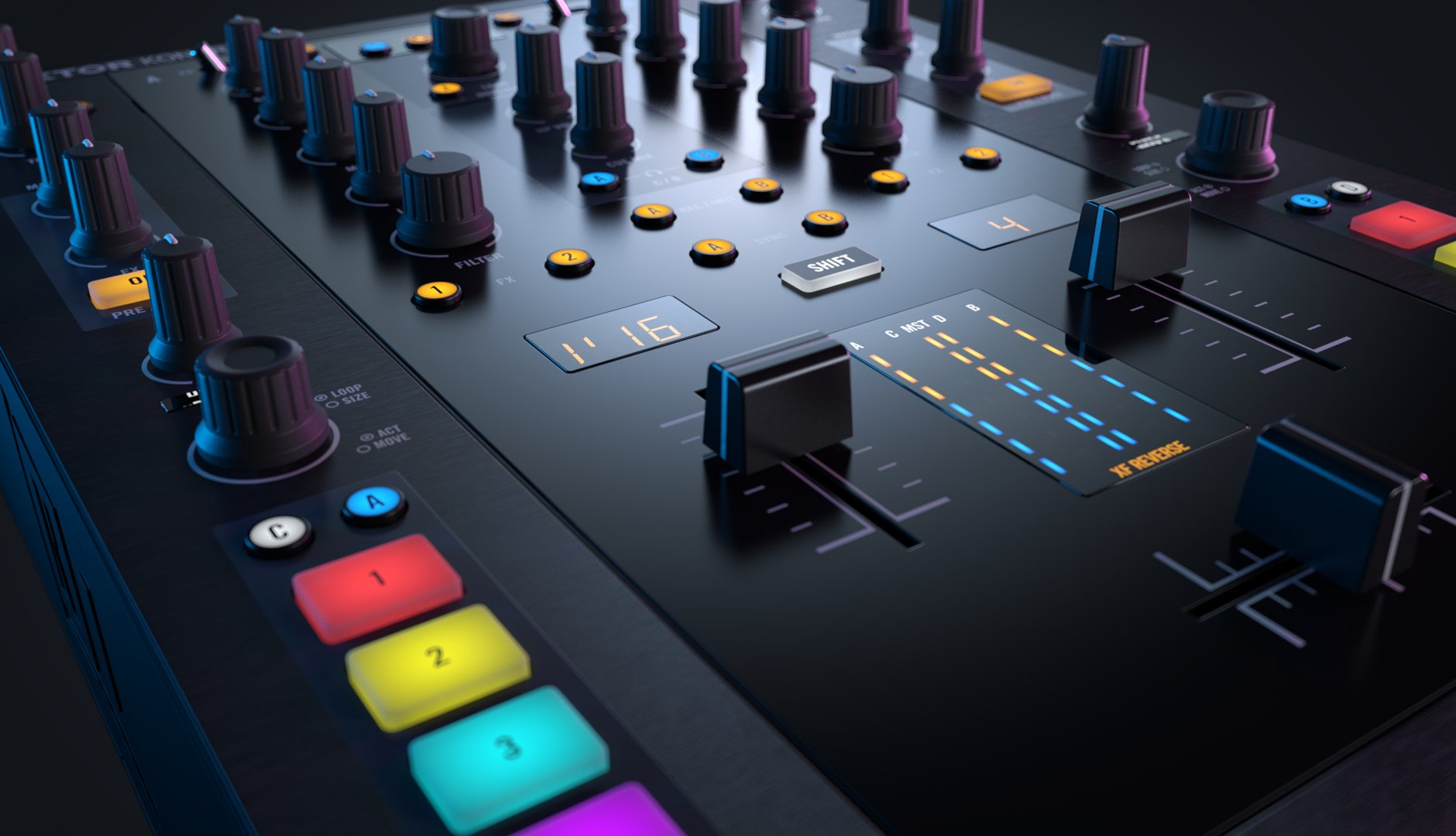 Native Instruments TRAKTOR KONTROL Z2 [DJミキサー]