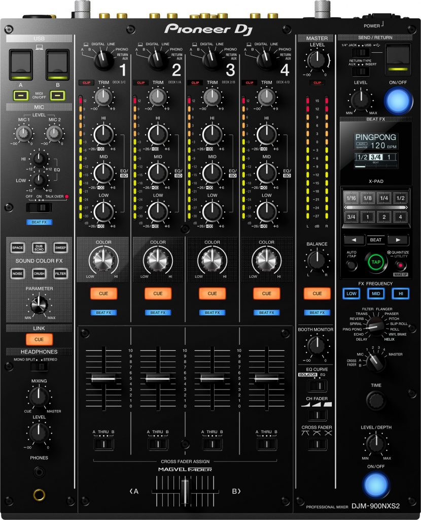 Pioneer DJM-900NXS2 [DJミキサー]
