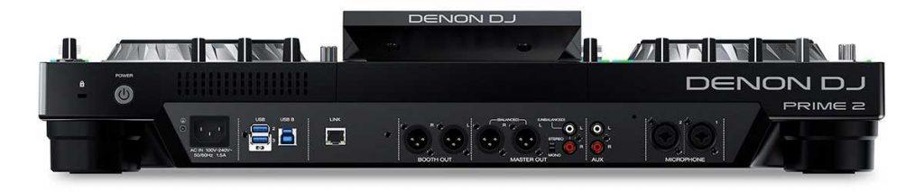 DENON PRIME2 背面[DJコントローラー]
